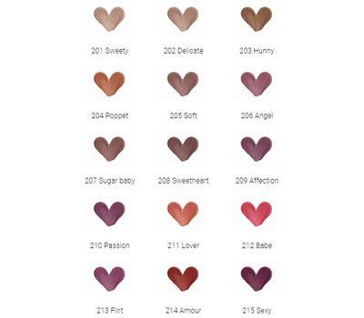"Жидкая помада для губ ""Matte&Me"" тон: 208, sweetheart (10323993)"