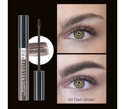 "Гель для бровей ""Waterproof Color Brow Gel"" тон: 04, dark brown (101006543)"