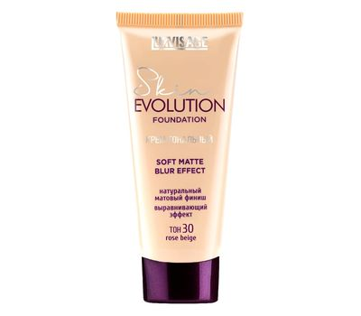 "Тональный крем для лица ""Skin Evolution Soft Matte Blur Effect"" тон: 30, rose beige (10997113)"