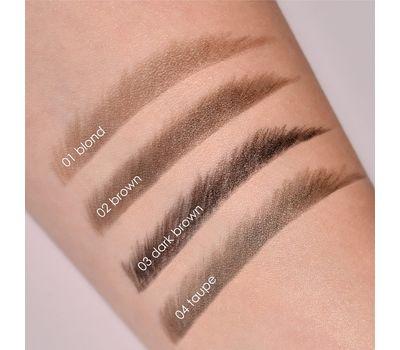 """Фломастер для бровей """"Brow Permanent Marker"""" тон: 03, dark brown (10593977)"""